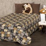 4Home Detský prehoz na posteľ Medvede, 140 x 200 cm