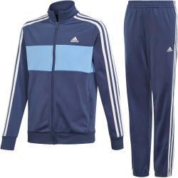 Chlapčenské Detské nohavice adidas Tiberio modrej farby s dlhými rukávmi