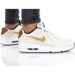 Dámske Topánky Nike Air Max 90 bielej farby šnurovacie
