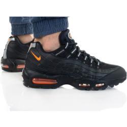 Pánske Topánky Nike Air Max 95 čiernej farby v športovom štýle šnurovacie