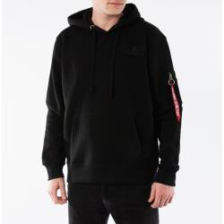 Alpha Industries Red Stripe Hoodie 178314 95