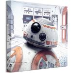 Art Group Obraz na plátne Star Wars The Last Jedi (BB-8 Peek) 40x40cm