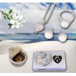 B2B Perla želanie v perlorodce s náušnicami a prstienkom