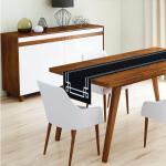 Behúň na stôl z mikrovlákna Minimalist Cushion Covers Mulia, 45x140cm