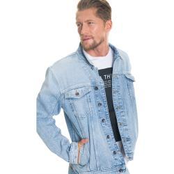 Big Star Unisex's Jacket 130178 Light Jeans-107