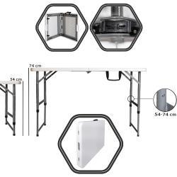 BRIMO skladací stôl BRIMO - 122x60 cm