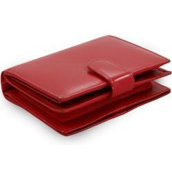 Červená dámská kožená peněženka Kendall Arwel