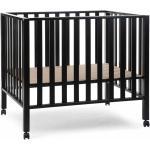 CHILDHOME Detská ohrádka, bukové drevo, čierna PA94BL