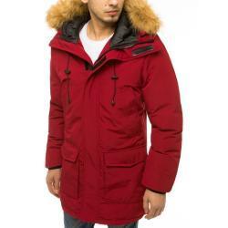 Claret men's winter hooded jacket TX3606