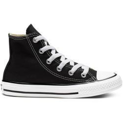 Detské Tenisky Converse All Star čiernej farby v ležérnom štýle v zľave