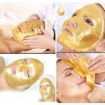 DS Pleťová maska s 24-karátovým zlatom - hydratuje a povzbudzuje tvorbu kolagénu