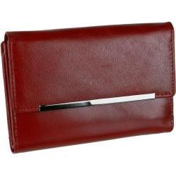 Elegantná dámska peňaženka červená MERCUCIO dvojdielna