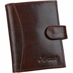 Elegantné puzdro na karty v hnedej farbe MERCUCIO RFID