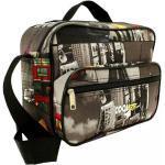 """Farebná cestovná taška cez rameno """"City"""" - veľ. S"""