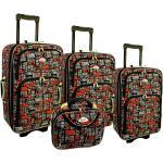 """Farebná sada 4 cestovných kufrov """"Neavyt"""" - S, M, L, XL"""