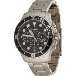 FOSSIL Analógové hodinky strieborná