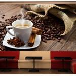 Fototapeta Badyánová káva - Star anise coffee