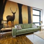 Fototapeta Jeleň v jeho prirodzenom prostredí - Deer in his natural habitat