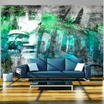 Fototapeta koláž mesta Berlín v zelenej farbe - Berlin: collage (green)