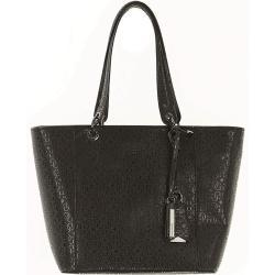 GUESS Kamryn Extra Large Tote Black Shine Black