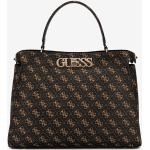 Guess Uptown Chic Large Kabelka Hnedá