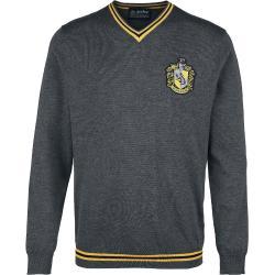Harry Potter - Harry Potter Hufflepuff - Bavlnené tričko - Antracitový mix