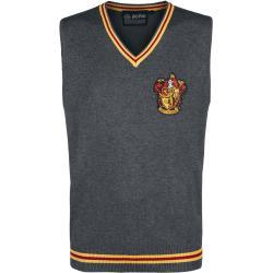 Harry Potter - Sveter bez rukávov Harry Potter Gryffindor - Bavlnené tričko - antracitová