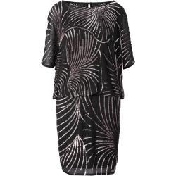 heine Kokteilové šaty čierna