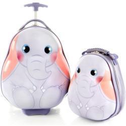 Heys Travel Tots Lightweight Kids Elephant sada batoh cca 9 l a kufr cca 30 l