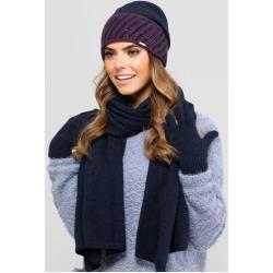 Kamea Woman's Hat K.19.025.12 Navy Blue