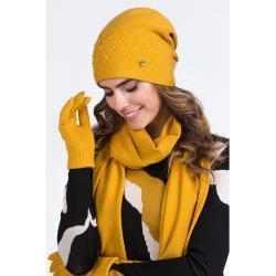 Kamea Woman's Hat K.20.029.25 Mustard