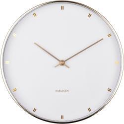 Karlsson KA5776WH Dizajnové nástenné hodiny, 27 cm