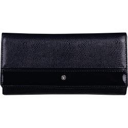 Kožená luxusná peňaženka Wojewodzic tmavomodrá 3PD62/PC14/PL14, Doprava zadarmo