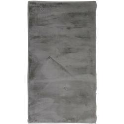 Kúpeľňové predložky sivej farby so šírkou Š 50 cm s dĺžkou D 50 cm