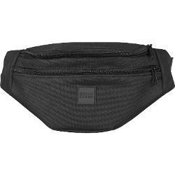 Ľadvinka Urban Classics Double-Zip Shoulder Bag blk/blk