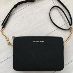 Michael Kors Jet Set Travel crossbody čierna