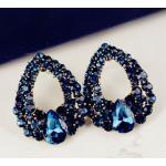 Náušnice Drop Royal Blue-Modrá KP634