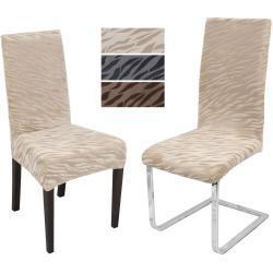 Návlek na stoličku ZUZANA TIGER Farba: Natur