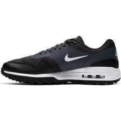 Nike Air Max 1 pánska golfová obuv Black Black 10 (45)