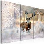 Obraz jeleň v zime - Deer in the Cold