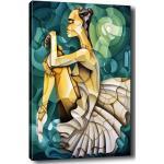 Obraz Tablo Center Geometric Ballerina, 100 × 140 cm