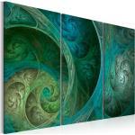 Obraz tyrkysová orientálna inšpirácia - Turquoise oriental inspiration