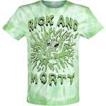 Rick And Morty - Acid - Tričko - zelená biela