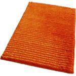 Kúpeľňové predložky Routner oranžovej farby