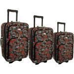 """Sada 3 farebných cestovných kufrov """"Neavyt"""" - M, L, XL"""