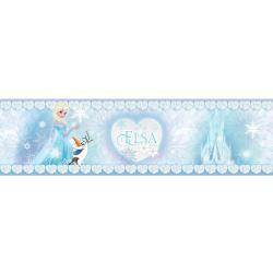 Samolepiaca bordúra Ľadové kráľovstvo, 500 x 14 cm