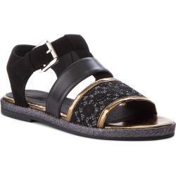 Dievčenské Sandále Geox čiernej farby 40 na leto