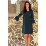 Šaty Zelené S Čipkou Nicole 190-7 Veľkosť: S