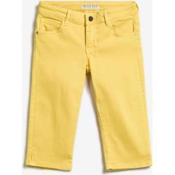 Dievčenské Detské nohavice Guess žltej farby 12 rokov