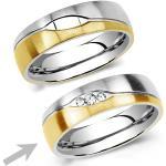 Silvego Oceľový prsteň pre ženy LE BLANC RRC2051-Z